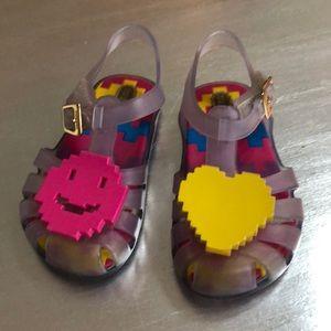 Mini Melissa emoji jellies